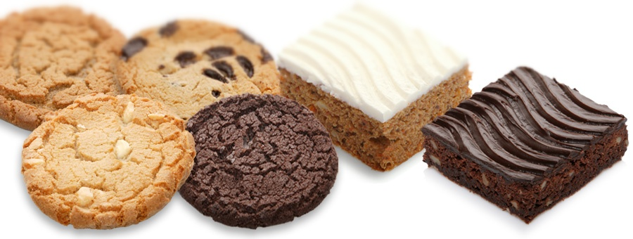 Original amerikanische Cakes & Cookies