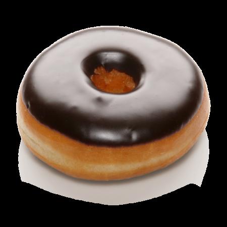 Donut Dunkle Schokoglasur