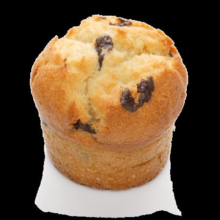 Muffin Natur mit Schokostücken