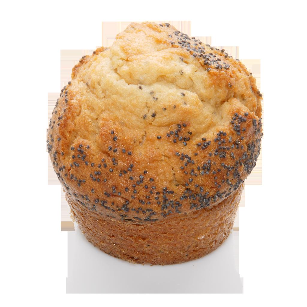 Muffin Zitrone-Mohn
