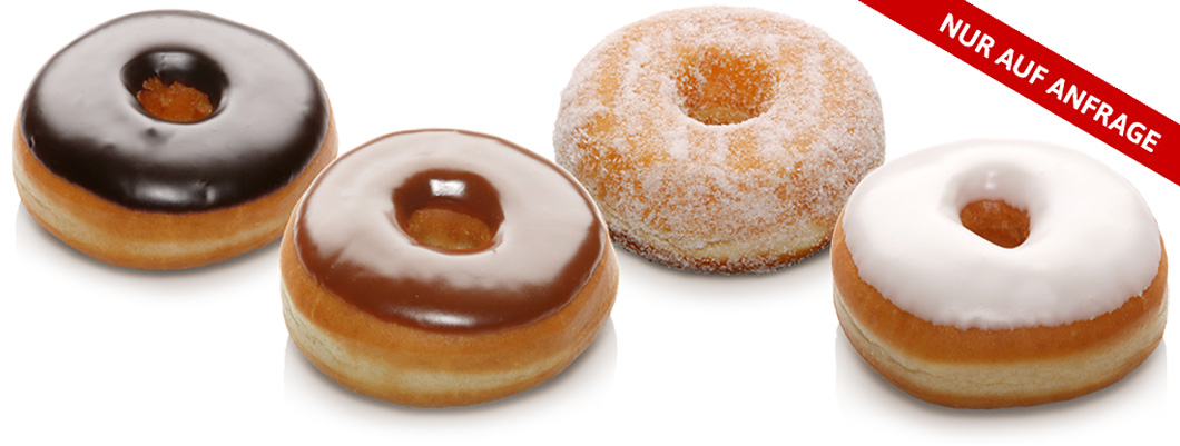 Original amerikanische Donuts auf Anfrage