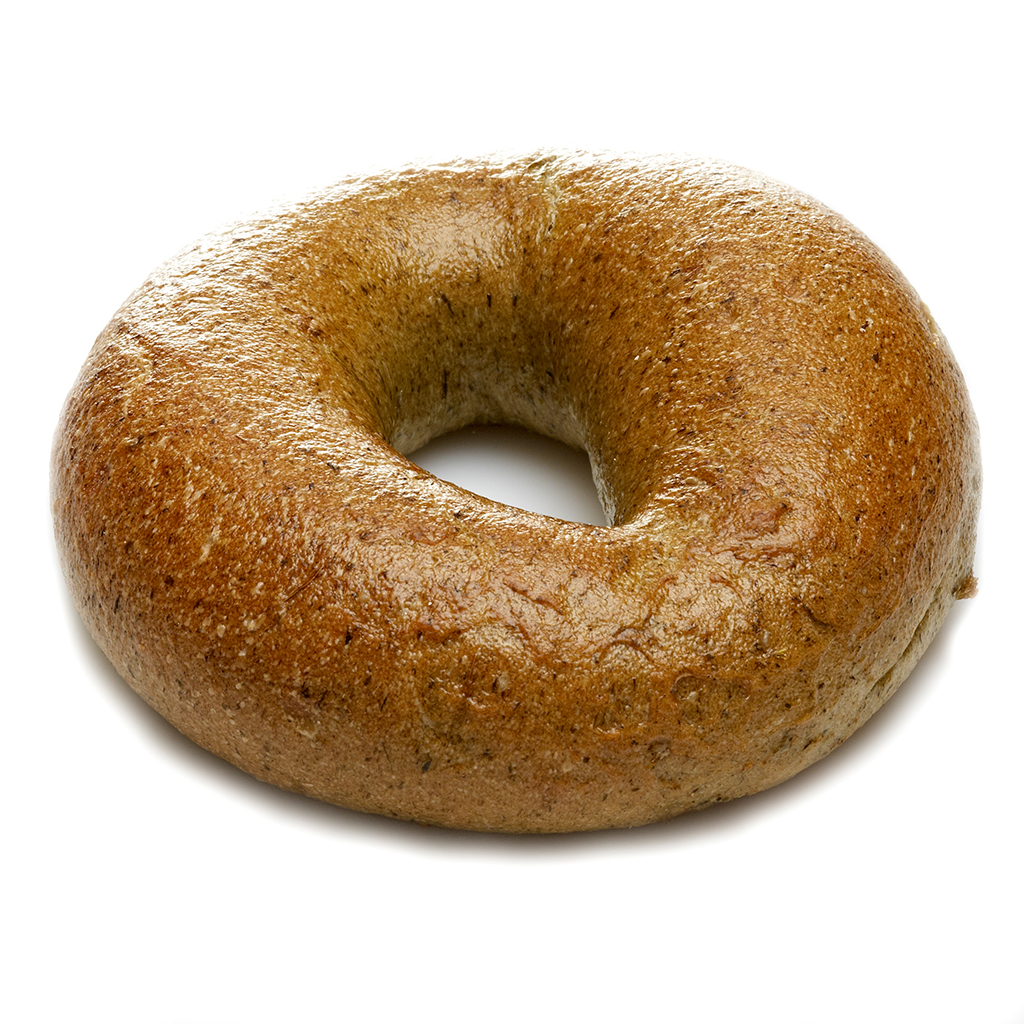 bagel-spinat