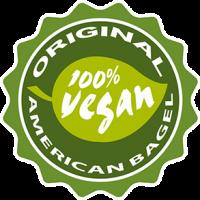 Vignette 100% vegan original American Bagel