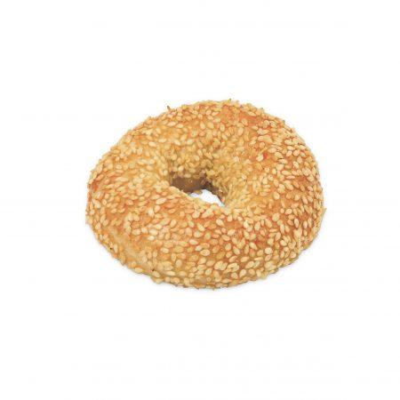 Mini-Bagel-Sesam