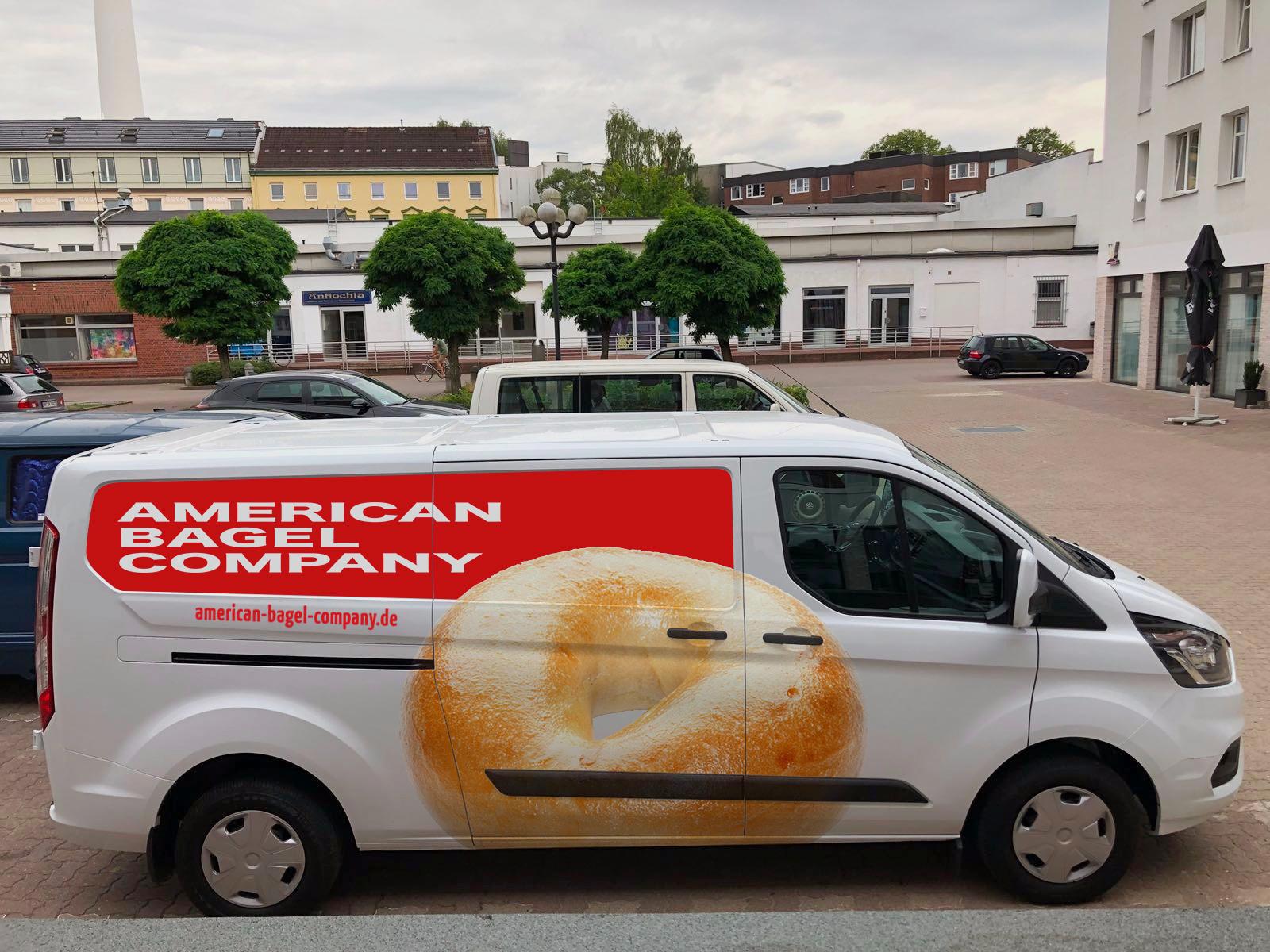 Fahrzeug der American Bagel GmbH